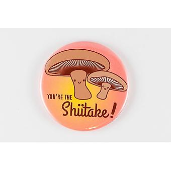 Funny Magnet Pinback Button Or Pocket Mirror -