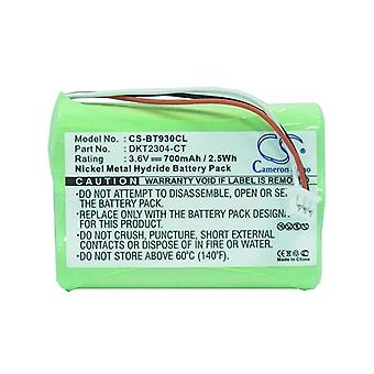 Cameron Sino Bt930Cl Battery Replacement For Casio Cordless Phone