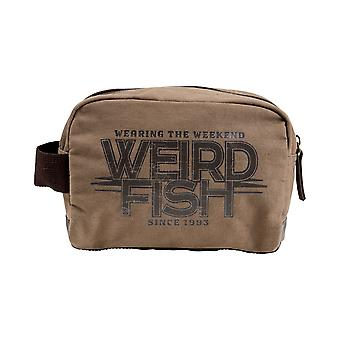 Weird Fish Rata Waxed Wash Bag
