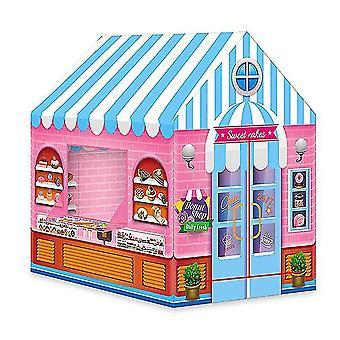 Kinder Falten Spiel Zelte Spielzeug Spiele Zelt Dessert Haus Zelt
