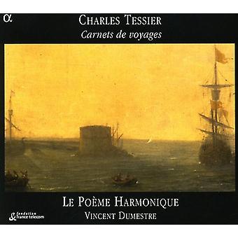 K. Tessier - Charles Tessier: Carnets De Voyages [CD] USA import