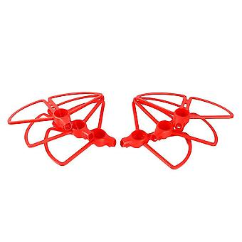 Remote control helicopters red 6pcs yuneec typhoon h480 propeller guard bumper quick release