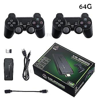 USB drahtlose Videokonsole TV Game Stick 4k tragbare Spielkonsole 8 Bit Mini Retro Controller hd