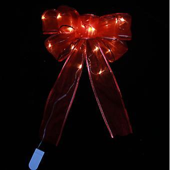 Mimigo 2 pièces Arbre de Noël Arc Led Ruban Arcs Arbre de Noël Ornements Arbre de Noël Arbre Topper Décoration de Noël Pour La Maison Arbre de Noël Couronnes Decoratio