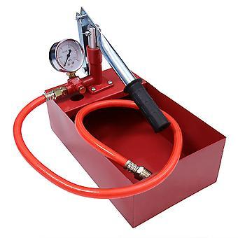 25kg Kupfer Wasser Druck Testpumpe Handpumpe Testwerkzeug Hydraulisches Prüfwerkzeug (Rohr Zufällige Farbe)