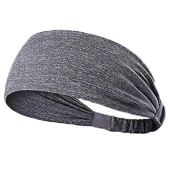 Fast Dry Yoga Sports Headband Cloth Patchwork Cationic Fitness Hair Band For Riding