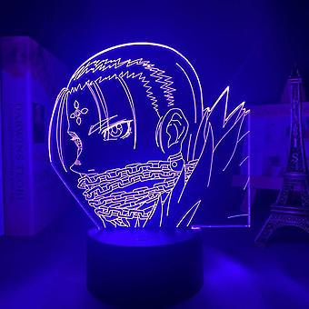 Kids Gift Anime Hunter X Hunter Hisoka Night Light Touch Sensor Chambre 3d Illusion Night Light Ledanime Lamp Colorful Remote Control Night Light Home