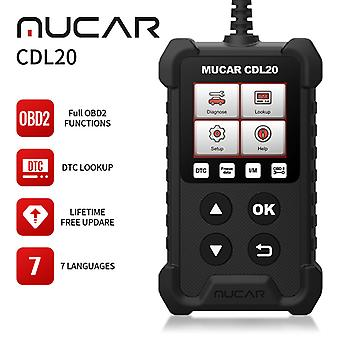Mucar Cdl20 Obd2 Scanner Code Reader Auto Diagnostic Tools