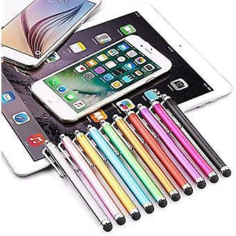 10buc Metal Stylus Touch Pen pentru Touch Screen-random Color