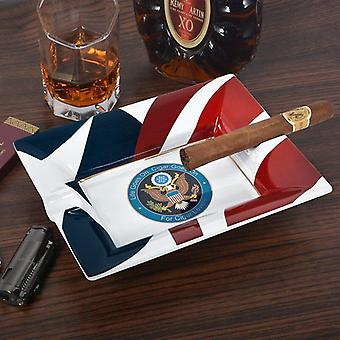 Creative Large Size Cigar Ashtray Smoking Accessories Ceramic Trays Gift For  Accessories