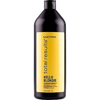 Matrix Total resultat Hello Blondie Shampoo 1000ml