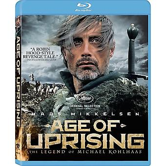 Age of Uprising: Legend of Michael Kohlhaas [BLU-RAY] USA import