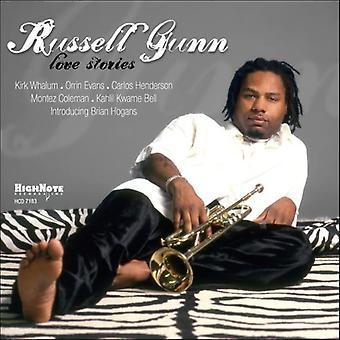 Russell Gunn - Love Stories [CD] USA import
