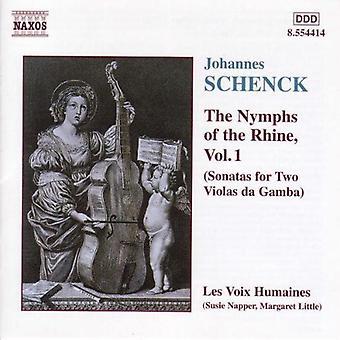 J. Schenck - Schenck: Nymfit Rein-Vol. 1 [CD] USA tuonti