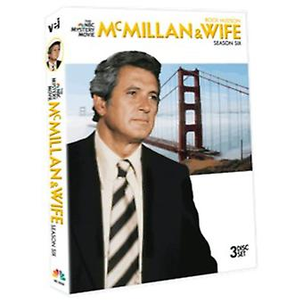 McMillan & Wife: Season Six [DVD] USA import
