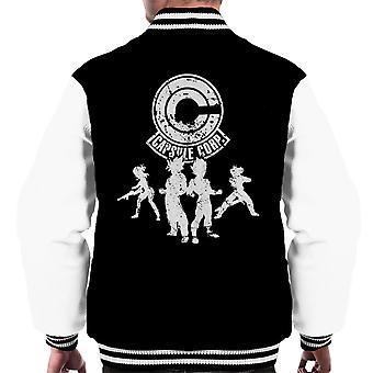 Power Capsule Corp Dragon Ball Z Men's Varsity Jacket