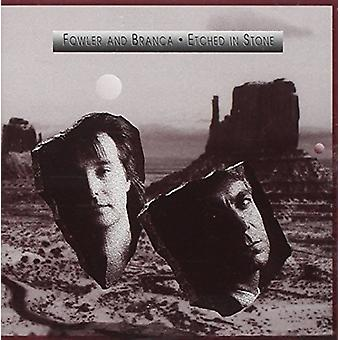 Fowler & Branca - Etched in Stone [CD] USA import