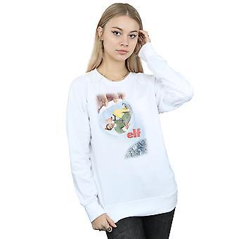 Elf Women's Distressed Poster Sweatshirt