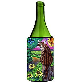 Carolines Treasures  7425LITERK Bengal Cat Wine Bottle beverage insulator Hugger