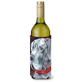 Dogiem uszy naturalny czerwony kołnierz butelki wina napojów izolator Hugger
