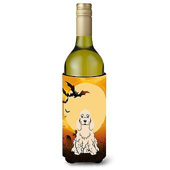Halloween Cocker Spaniel Buff Wine Bottle Beverge Insulator Hugger
