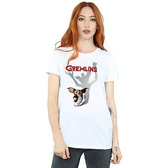 Gremlins Women's Gizmo Shadow Boyfriend Fit T-Shirt