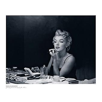 Marilyn Monroe Backstage Juliste Tulosta Sam Shaw (19 x 15)