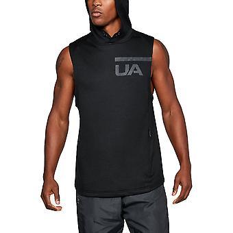 Unter Armour Herren Mk1 Terry ärmelloses Running Sport Weste T Shirt Top