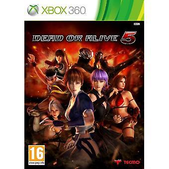 Dead or Alive 5 (Xbox 360) - Nouveau
