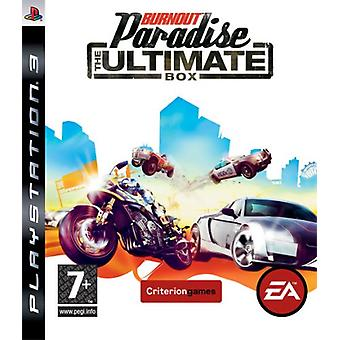 Burnout Paradise - The Ultimate Box (PS3) - Nouveau