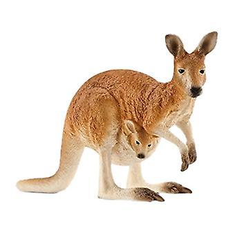 Schleich 14756 - canguru de vida selvagem