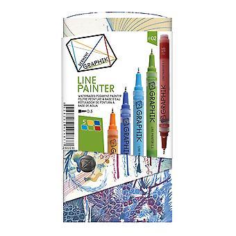 Derwent Graphik Line Painter Pen Set #2