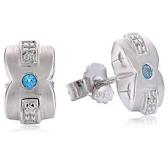 Orphelia Silver 925 ørering Diamond Co/St ZO-5662