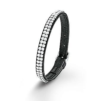 s.Oliver jewel ladies bracelet stainless steel leather SO1366/1 - 544757