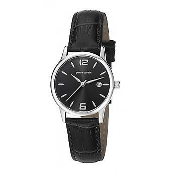 Pierre Cardin reloj reloj de pulsera JUSSIEU de cuero PC106732F06