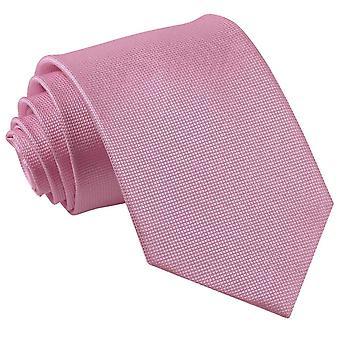 Verificação contínua de luz rosa clássico gravata