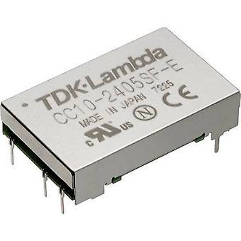 TDK-Lambda CC-10-4805SF-E DC/DC converter (print) 48 V DC 5 V DC 2 A 10 W No. of outputs: 1 x