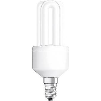 OSRAM Energiesparlampe EEC: ein (A++ - E) E14 124 mm 230 V 11 W = 51 W Warm weiße Tube Form 1 PC