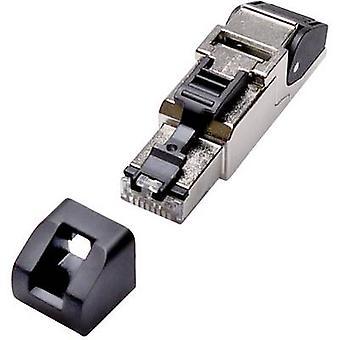 Lütze 490128 Sensor-/Aktor-Splitter/Adapter RJ45 Stecker Gehäuse Nein Pins (RJ): 8P8C 1 PC