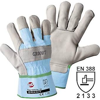 L+D Granit 1574 Full-grain cowhide Protective glove Size (gloves): 8, M EN 388:2016 CAT II 1 Pair