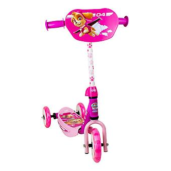Paw Patrol Skye Three Wheel Scooter with Adjustable Handlebar - Pink