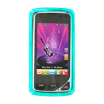 OEM Verizon LG Chocolate Touch VX8575 High Gloss Silicone Case - Turquoise (Bulk Packaging)