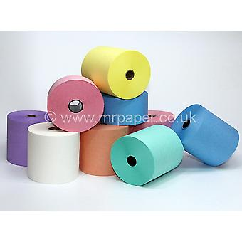 76mm x 76mm Lilac / Mauve Laundry Tape / Dry Cleaning / DryStream / Wet Strength Rolls - Box of 20