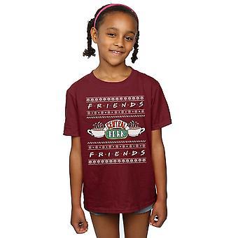 Priatelia dievčatá veľtrh Isle centrálne vyzdobiť T-shirt