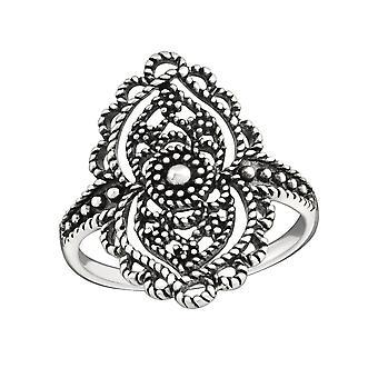 Маркиза - 925 стерлингового серебра Обычная кольцо - W32294x