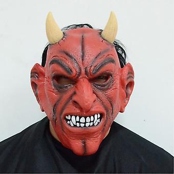 Duivel Rode hoorn hoofd masker masquered partij Halloween