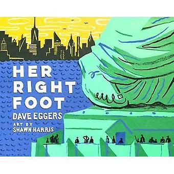Hendes højre fod af Dave Eggers - 9781452162812 bog