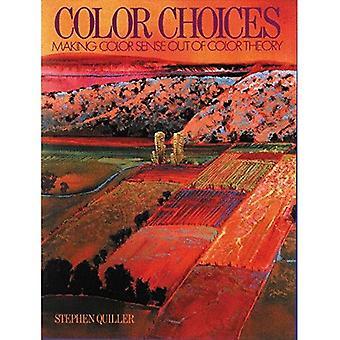 Scelte di colore: Dare un senso di colore dalla teoria del colore