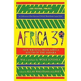 Africa39: Ny skrift från Afrika söder om Sahara