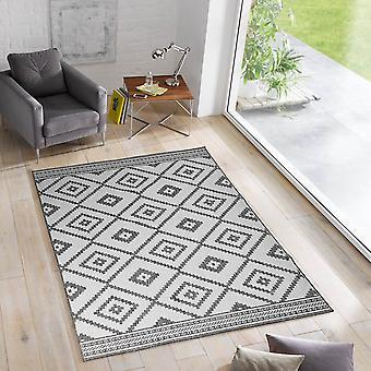 Reversing carpet ETHNO In- & Outdoor carpet woven carpet sisal-optic flat fabric modern